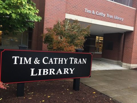 tim & cathy tran library